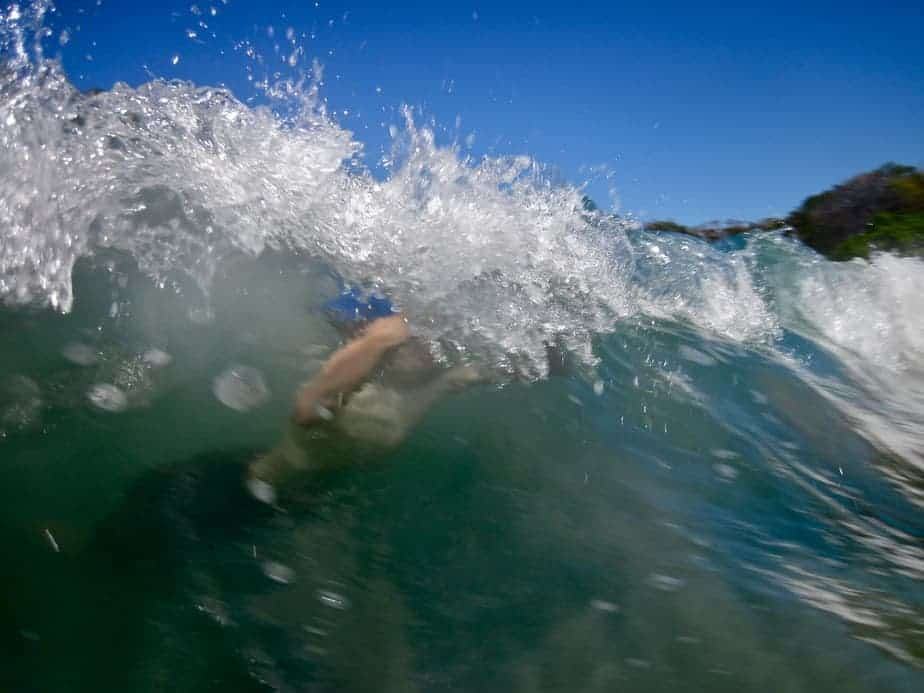 How to Turtle Roll when Surfing with Longboard 1